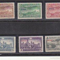 Sellos: XX 830/5 A III CONGRESO U.P. PANAMERICANA 1931. Lote 61058375