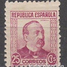 Sellos: EDIFIL 685, MANUEL RUIZ ZORRILLA, NUEVO CON SEÑAL DE CHARNELA. Lote 61762016