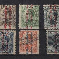 Sellos: ESPAÑA REPUBLICA . N 593/603 USADO ,AÑO 1931 . ALFONSO XIII SOBRECARGADOS . Lote 62355408