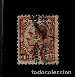 II REPUBLICA - ALFONSO XIII - SOBRECARGADOS - EDIFIL 593 - 1931 (Sellos - España - II República de 1.931 a 1.939 - Usados)