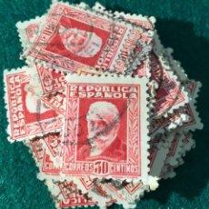 Sellos: AÑO 1931/32. PERSONAJES. Nº659. 100 UDS.. Lote 66781023