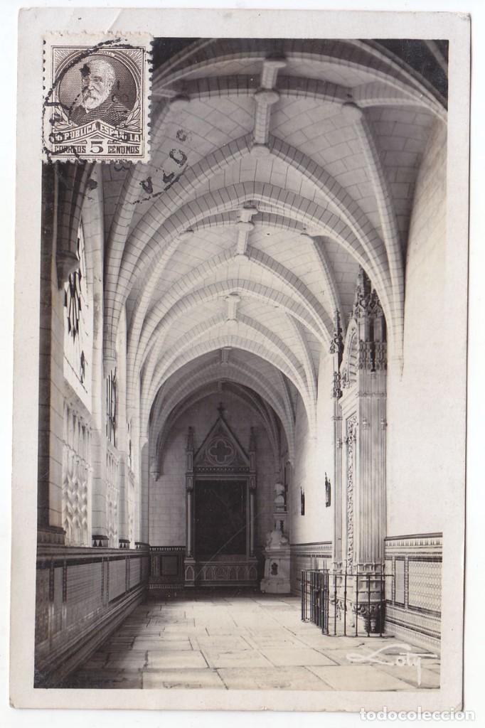 POSTAL CIRCULADA COMO IMPRESOS AL CONGO BELGA. 1933. RARÍSIMO DESTINO. (Sellos - España - II República de 1.931 a 1.939 - Cartas)