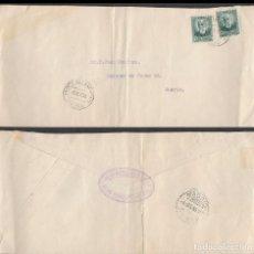 Sellos: AÑO 1935, CARTA CIRCULADA DESDE PUENTE DEL ARZOBISPO (TOLEDO). Lote 71267275
