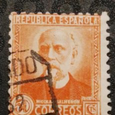 Briefmarken - USADO - EDIFIL 671 - SPAIN 1932 PERSONAJES Y MONUMENTOS - 71851347