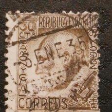 Sellos: USADO - EDIFIL 680 - SPAIN 1934 SANTIAGO RAMON Y CAJAL. Lote 71852635