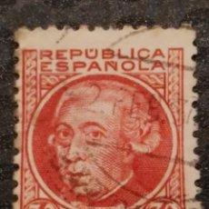 Sellos: USADO - EDIFIL 687 - SPAIN 1933/1935 PERSONAJES. Lote 71854023