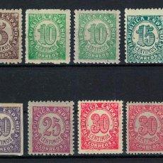 Sellos: CIFRAS (1938). EDIFIL 745-750. NUEVOS. Lote 75142555