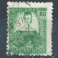 Sellos: R12/ ESPAÑA USADOS 1933-35, EDF. 682, MARIANA PINEDA. Lote 76770859