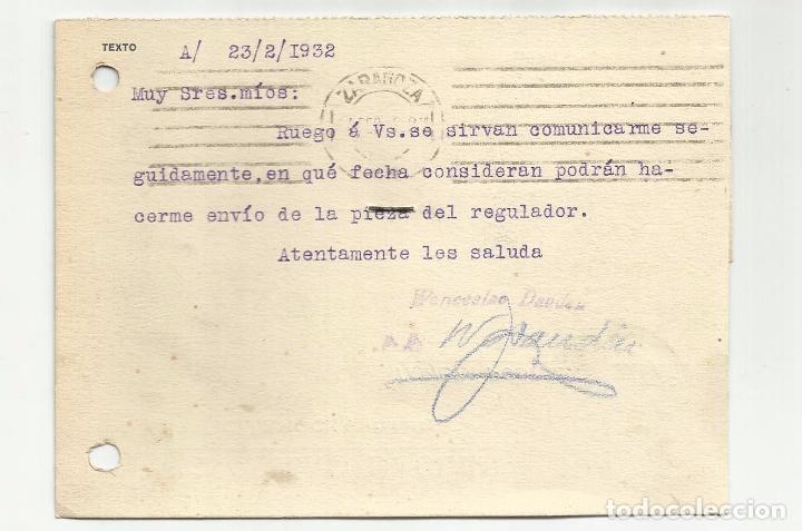 Sellos: tarjeta postal circulada 1932 de calamocha teruel a zaragozaver foto - Foto 2 - 78853133