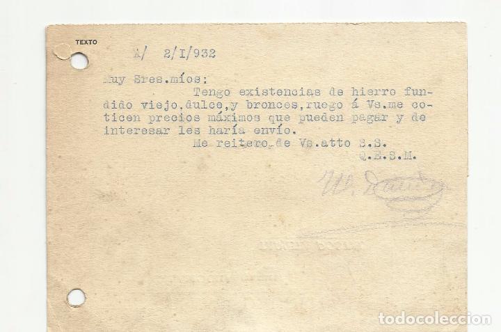 Sellos: tarjeta postal circulada 1932 de calamocha teruel a zaragoza ver foto - Foto 2 - 78853633