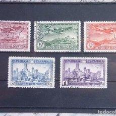 Sellos: 1931 - III CONGRESO DE LA UNIÓN POSTAL PANAMERICANA - EDIFIL 614 A 618 - USADOS. Lote 79626601