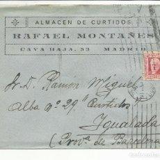 Sellos: CIRCULADA 1932 DE MADRIF A IGUALADA BARCELONA CON MATASELLO DE LLEGADA. Lote 81875096