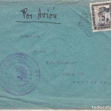 Sellos: F15-38- CARTA MADRID-AMSTERDAM 1936.. CENSURA MINISTERIO DE ESTADO.PRENSA EXTRANJERA. Lote 82301156