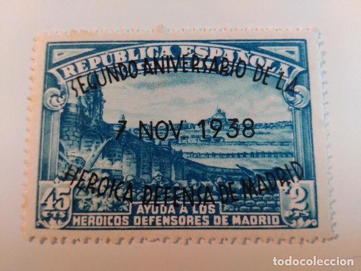 NUEVO **. EDIFIL 789. AÑO 1938. II ANIVERSARIO DE LA DEFENSA DE MADRID. (Sellos - España - II República de 1.931 a 1.939 - Nuevos)