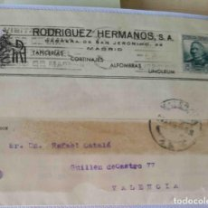 Sellos: TARJETA POSTAL MADRID CONCEPCIÓN ARENAL 15 CTS. ABR1935.. Lote 83717644
