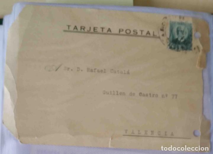 TARJETA POSTAL MADRID NICOLAS SALMERÓN 15 CTS. 21MAY1932. (Sellos - España - II República de 1.931 a 1.939 - Cartas)