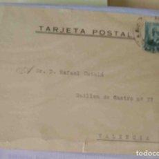 Sellos: TARJETA POSTAL MADRID NICOLAS SALMERÓN 15 CTS. 21MAY1932.. Lote 83718100
