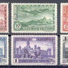 Sellos: AÑO 1931 (614-619) III CONGRESO DE LA UNION POSTAL PANAMERICANA (NUEVO). Lote 85703432