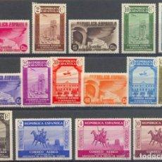 Sellos: AÑO 1936 (711-725) XL ANIVERSARIO ASOCIACION DE LA PRENSA (NUEVO). Lote 86177816
