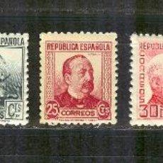 Sellos: EDIFIL 681/88 PERSONAJES DE LA REPUBLICA.BIEN CENTRADO NUEVOS VER. Lote 88173072