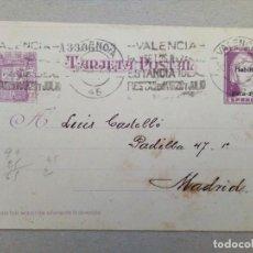 Sellos: TARJETA ENTERO-POSTAL DE LA REPUBLICA CON FRANQUEO HABILITADO. Lote 89604412