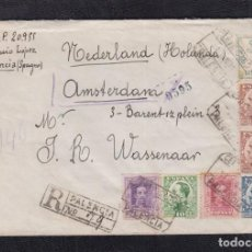 Sellos: 1931.- PALENCIA A HOLANDA. Lote 92970630