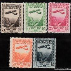 Sellos: 1931.- IX CENTENARIO FUND.MONTSERRAT -AÉREO SIN FIJASELLOS CAT. 135E. LIQ.COLECCIÓN. Lote 95483819