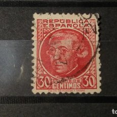 Sellos: ESPAÑA 1933-1935. SELLOS USADOS . PERSONAJES. SERIE INCOMPLETA.. Lote 95487999