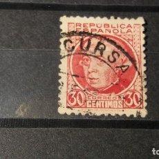 Sellos: ESPAÑA 1933-1935. SELLOS USADOS . PERSONAJES. SERIE INCOMPLETA.. Lote 95488019