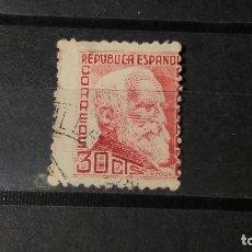 Sellos: ESPAÑA 1933-1935. SELLOS USADOS . PERSONAJES. SERIE INCOMPLETA.. Lote 95488291