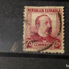 Sellos: ESPAÑA 1933-1935. SELLOS USADOS . PERSONAJES. SERIE INCOMPLETA.. Lote 95488455