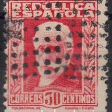 Sellos: EDIFIL 669. MATº ROMBO DE PUNTOS (ANULACIÓN SUPLENTE POR LLEGAR A DESTINO SIN MATASELLAR). Lote 95765979