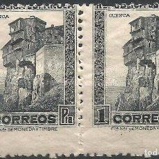 Sellos: EDIFIL 772 ADH CASAS COLGADAS DE CUENCA EN PAREJA - VARIEDAD. Lote 97186931