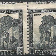 Sellos: EDIFIL 772 ADH CASAS COLGADAS DE CUENCA EN PAREJA - VARIEDAD. Lote 97186995