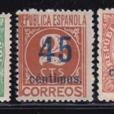 Sellos: 1938 EIDIFL Nº 742 / 744 , MHN. Lote 97743115