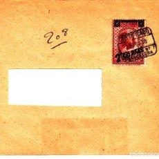 Sellos: CARTA AÑO 1938 CON SELLO NUM 791 Y MATASELLOS CERTIFICADO DE BARCELONA --MUY DIFÍCIL EN CARTA--. Lote 98376987
