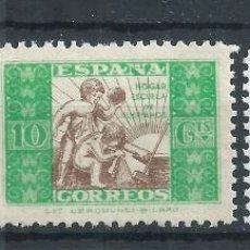 Sellos: R17.G4/ BENEFICIENCIA, Nº 9-10 Y 11, AÑO 1937, NUEVOS** SIN FIJASELLOS. Lote 98831928