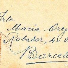 Sellos: CARTA: BARCELONA / SELLO 30 CENTIMOS. Lote 99284943