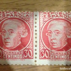 Sellos: 2 SELLOS 30 CTS.REPÚBLICA ESPAÑOLA (VER COMENTARIOS) - RAROS. Lote 99434787