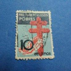 Sellos: EDIFIL 840. PRO TUBERCULOSOS. AÑO 1937. USADO. Lote 99498419