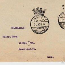 Sellos - FRONTAL CON MATASELLOS ESTAFETA CORTES CONSTITUYENTES 1932 - 99532415