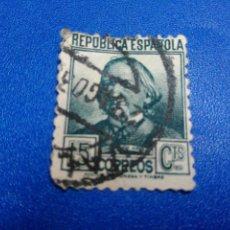 Sellos: II REPUBLICA. PERSONAJES. CONCEPCION ARENAL. EDIFIL 683. 1933-35. Lote 100460455