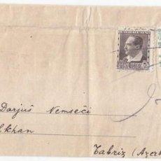 Timbres: FAJA DE G.L.E. (CREO QUE GRAN LOGIA ESPAÑOLA). VALENCIA A PERSIA. RARÍSIMO DESTINO. AZERBAYAN.. Lote 103052151