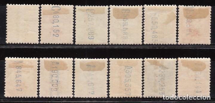 Sellos: ESPAÑA , 1931 EDIFIL Nº 593 / 603 / * / , ALFONSO XIII SOBRECARGADOS REPÚBLICA ESPAÑOLA - Foto 2 - 107751671