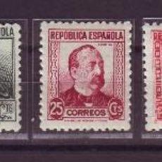 Sellos: 1933-35. ESPAÑA 681/88. PERSONAJES.. VC 45 EUROS. Lote 107789511