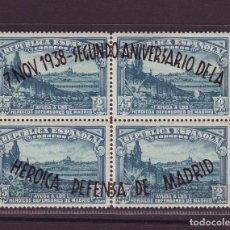 Sellos: AÑO 1938. EDIFIL 789/790**MNH. DEFENSA MADRID. VC 53 EUROS. Lote 107832599