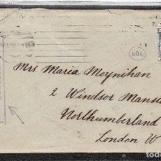 Sellos: Nº 688.- CARTA DE BARCELONA A LONDRES. ABIERTA POR LA CENSURA Y MARCA COMITÉ DE MILICIAS ANTIFASCIST. Lote 110319823