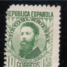 Sellos: ESPAÑA , 1931 - 1932 EDIFIL Nº 656 / * / , PERSONAJES , NUMERO DE CONTROL AL DORSO , . Lote 112571547