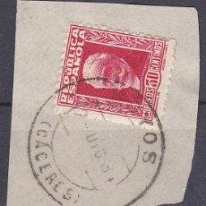 Sellos: CACERES.- SELLO Nº 669 MATASELLOS FECHADOR DE HOYOS. Lote 117849683