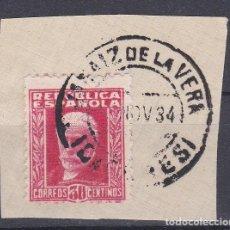 Sellos: CACERES.- SELLO Nº 669 MATASELLOS FECHADOR DE JARAIZ DE LA VERA. Lote 117849759